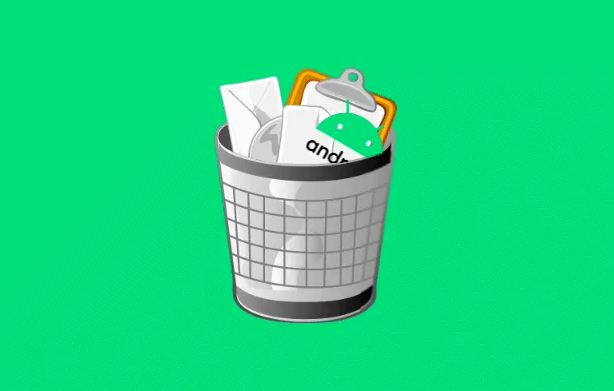 Как очистить корзину на Android